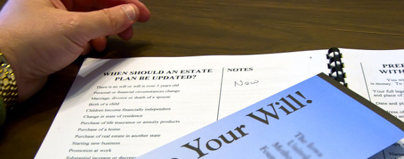 estate planning - updating a will